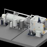 Anlage, Vakuum, Lagertank, Kessel, Pumpsatz, Schaltschrank